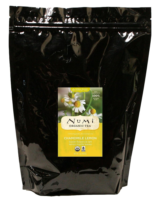 Bulk organic tea - Amazon Com Numi Organic Tea Chamomile Lemon Caffeine Free Herbal Teasan Loose Leaf 16 Ounce Bulk Pouch Numi Tea Caffeine Free Grocery Gourmet Food