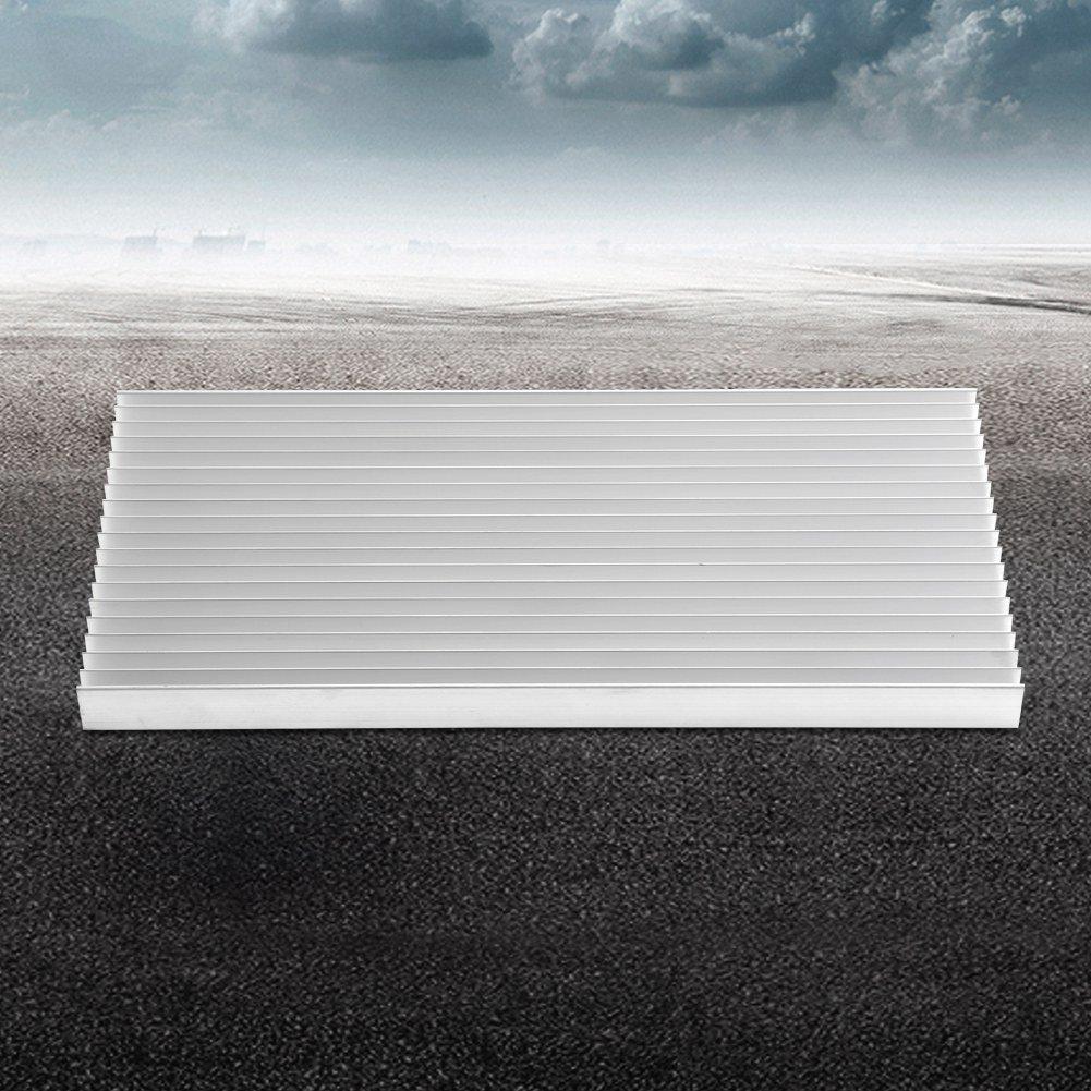 20 Mm Disipador T/éRmico De Enfriamiento para Luz Led De Alta Potencia Furnoor Disipador De Calor De Aluminio Disipador De Calor De Aluminio De 1 Pieza 300 140
