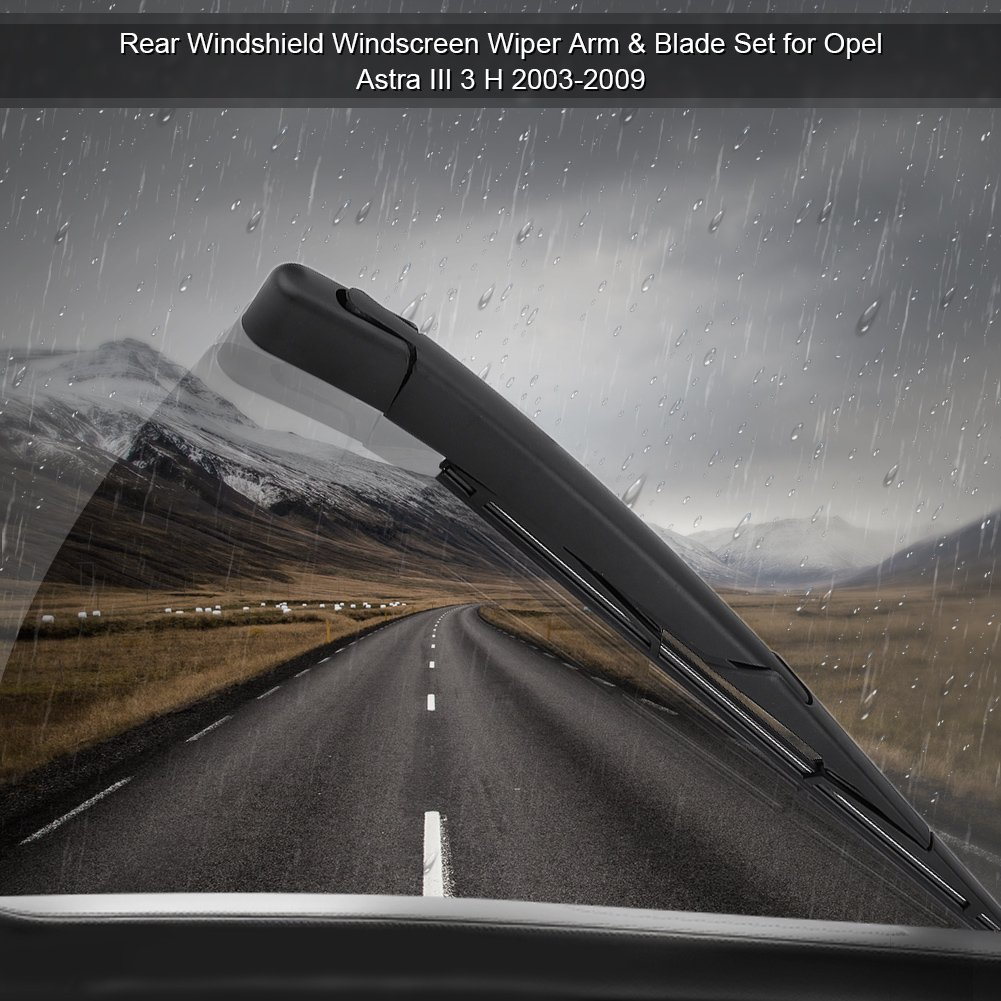 Amazon.com: Cuque Car Rear Windshield Wiper Set 27cm / 10.6