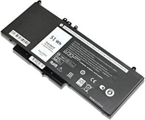 New G5M10 Laptop Battery for Dell Latitude E5250 E5450 E5550 R9XM9 8V5GX WYJC2 0WYJC2 1KY05 G5M10 Notebook 15.6 inch Batteries -7.4V 51WH