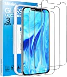 Mkeke Compatible with iPhone 12 Pro Screen Protector, iPhone 12 Max Screen Protector, Tempered Glass Screen Protector…