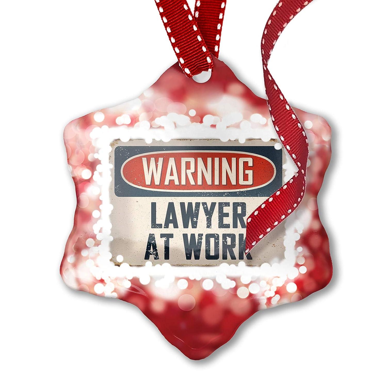 Adorno de Navidad alerta cortacésped en el trabajo - cartel ...