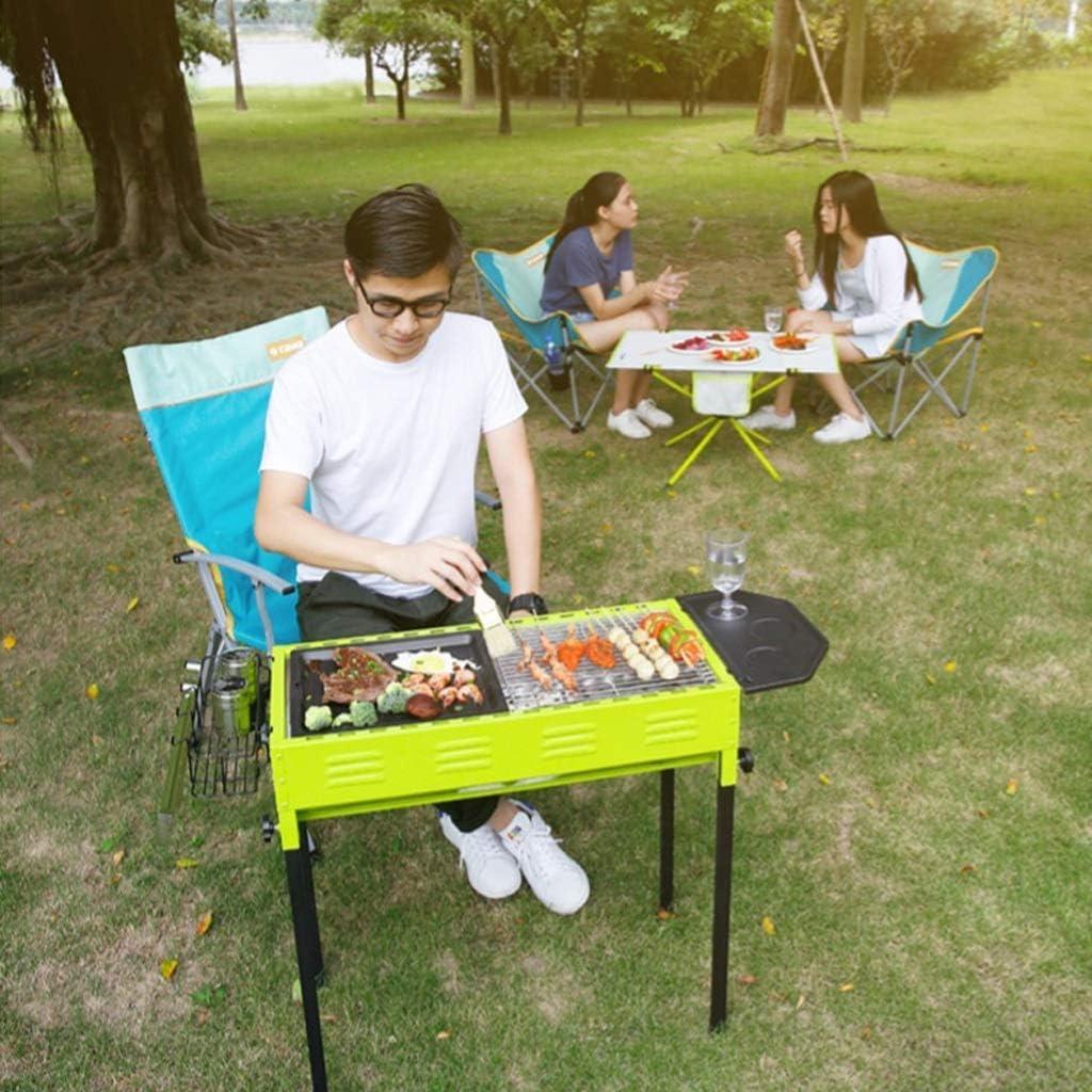 Barbecue,Barbecue extérieur,Villa Cour,Barbecue Domestique,Chariot Barbecue pour 5 Personnes ou Plus,67x30x70cm @ (Couleur: A) B