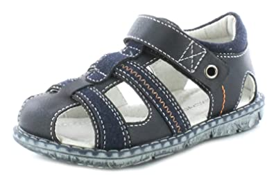 1e8c37c25 Dinosaur Hunter Younger Boys Childrens Navy Touch Fastening Fashion Sandals.  - Navy Blue