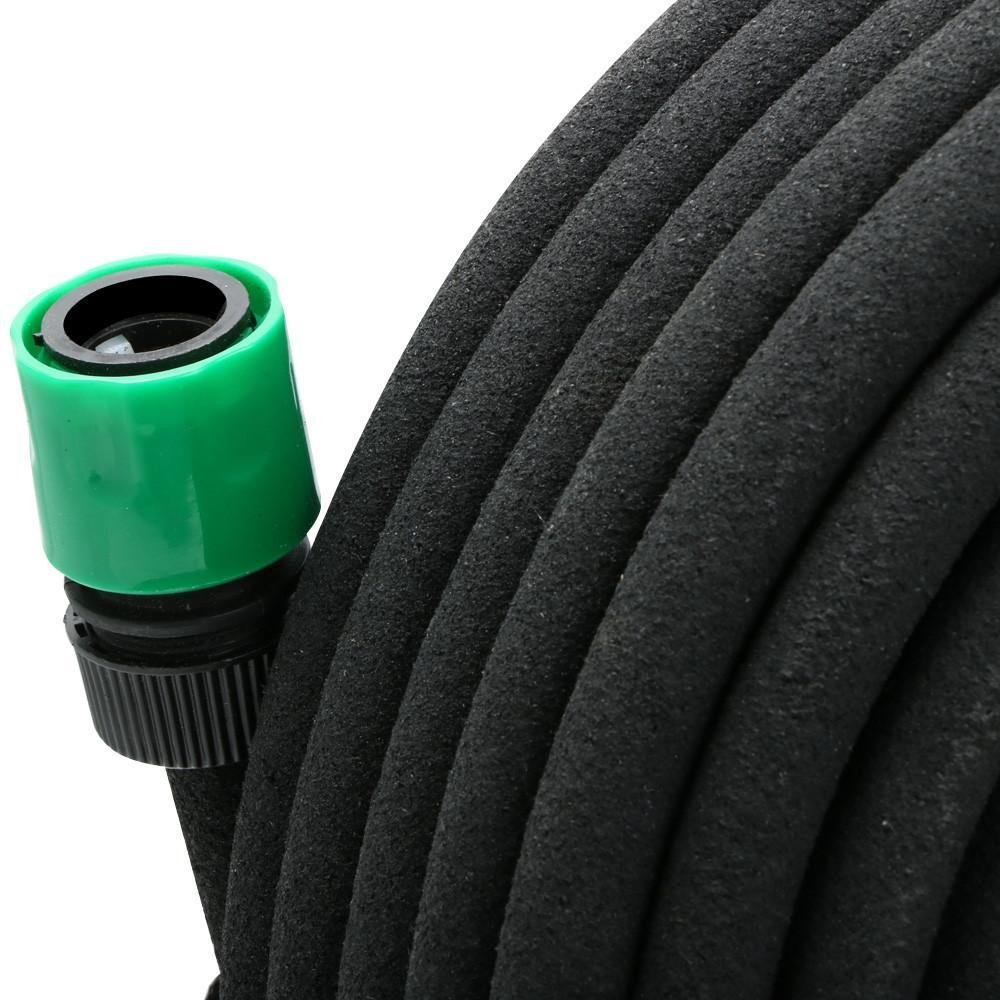 Yaheetech 50m Perlschlauch Tropfschlauch Gartenschlauch Bew/ässerung Wasser Schlauch 1//2mit Zubeh/ör-Set