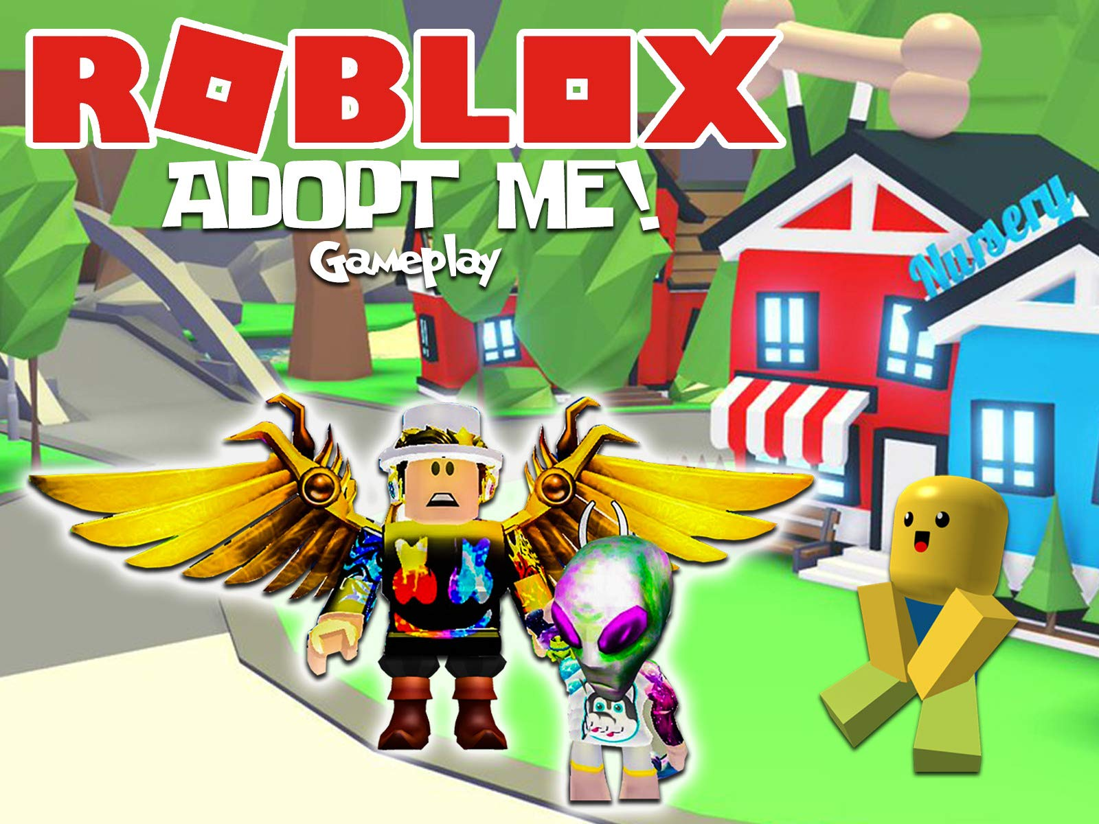 Two Sisters Toy Style Roblox Adopt Me Watch Clip Meganplays Roblox Prime Video