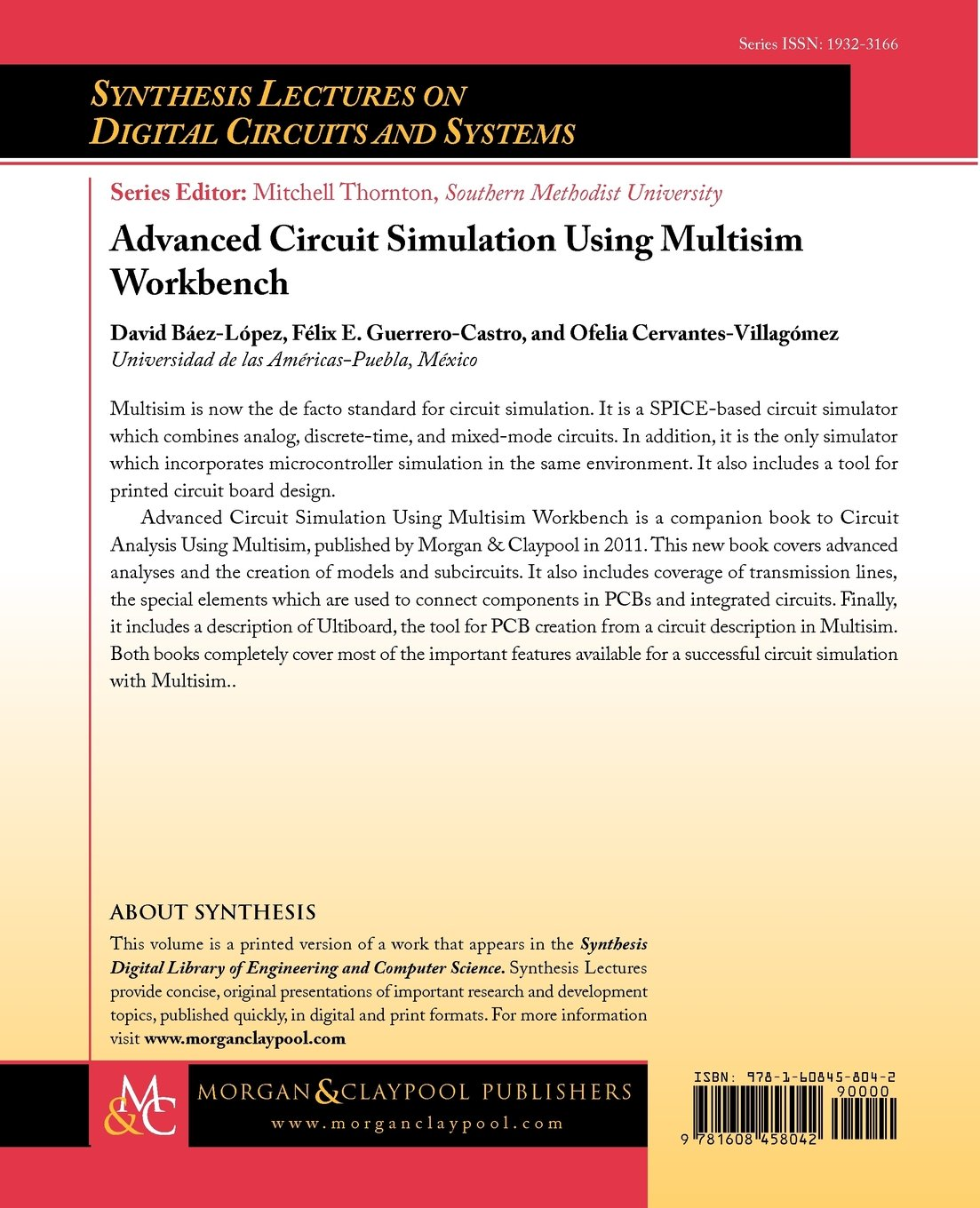 Advanced Circuit Simulation Using Multisim Workbench Synthesis 4 Way Switch Lectures On Digital Circuits And Systems David Bez Lpez Flix Guerrero Castro
