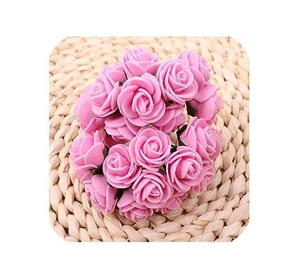 Amazon.com: 144 rosas artificiales para decoración de bodas ...