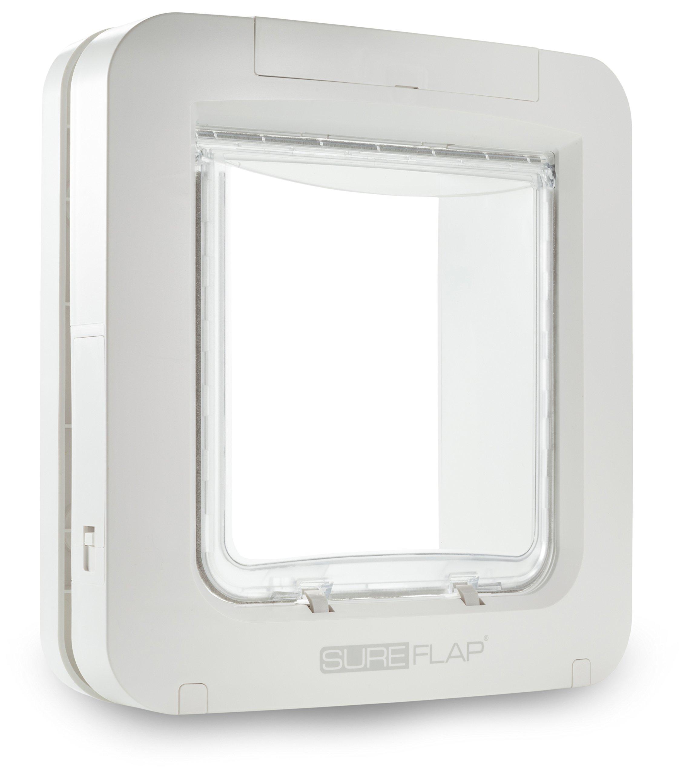 SureFlap Microchip Pet Door (White) by SureFlap MicroChip Pet Door