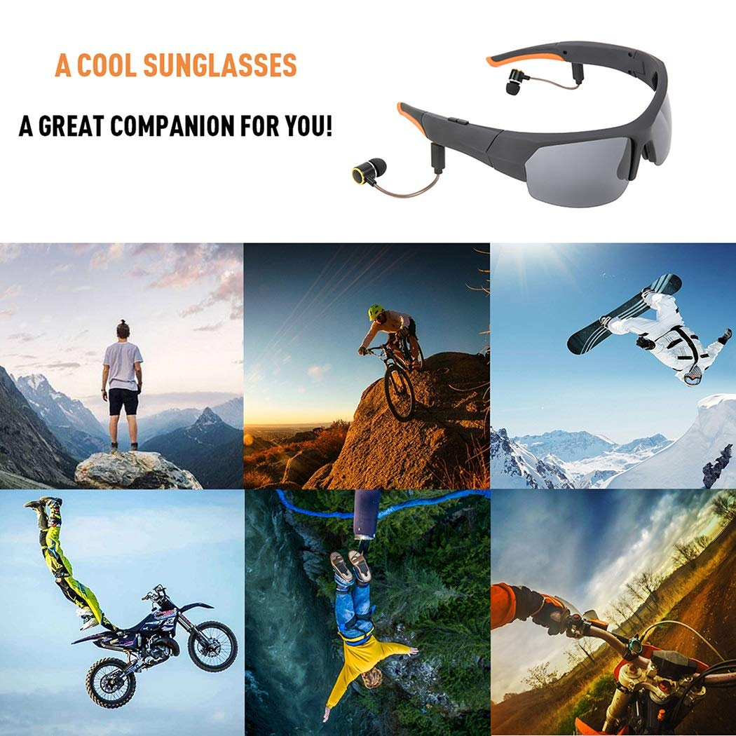 Super 9 Level Noise Reduction 4.1 Bluetooth Business Eyeglasses One For Two Strong And Lasting Battery Life
