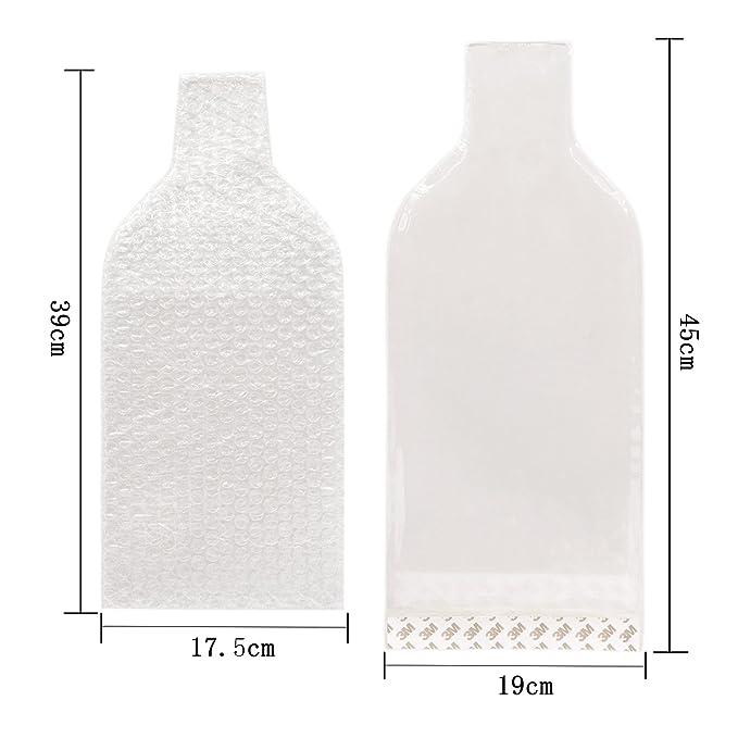 Paquete de 6 piezas Protector de Botellas de Vino Reutilizable,Garantizar la seguridad del transporte de botellas: Amazon.es: Hogar