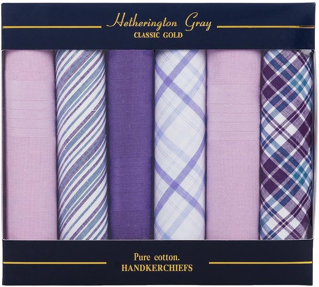 Hetherington Gray Herren Taschentuch Einheitsgr/ö/ße