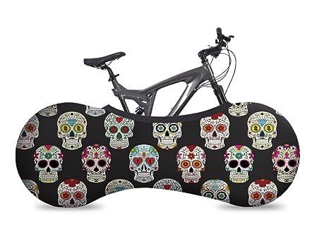 VELOSOCK Funda Cubre Bicicletas para Interiores - Skulls - La ...