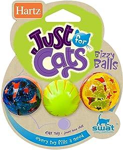 Hartz Bizzy Balls Cat Toys (2 Pack)