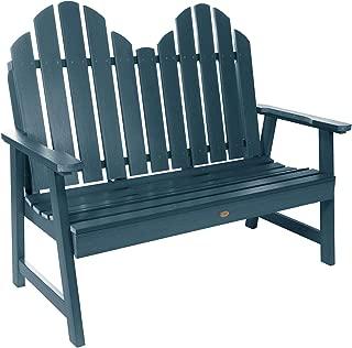 product image for highwood AD-BEN-CW1-NBE Classic Westport Garden Bench, 4ft, Nantucket Blue