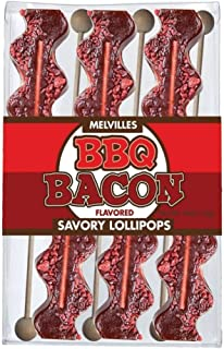 product image for Melville Candy BBQ Bacon Lollipops 6 Pack Gift Set