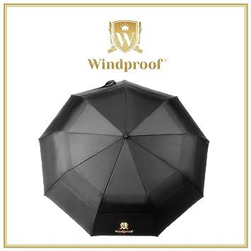 Mejor toldo paraguas a prueba de viento, irrompible, fácil llevar para viaje, compacto