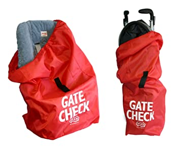Amazon.com   JL Childress Gate Check Bag Set for Car Seats and Umbrella  Strollers   Baby Stroller Travel Bags   Baby eed8ad840dc34