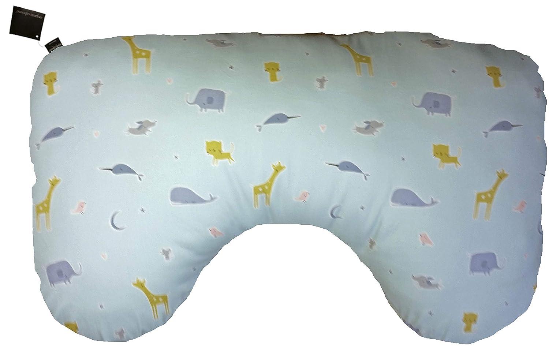 Natural Organic Caboose Organic Cotton Nursing Pillow Cover and Print Options Cream