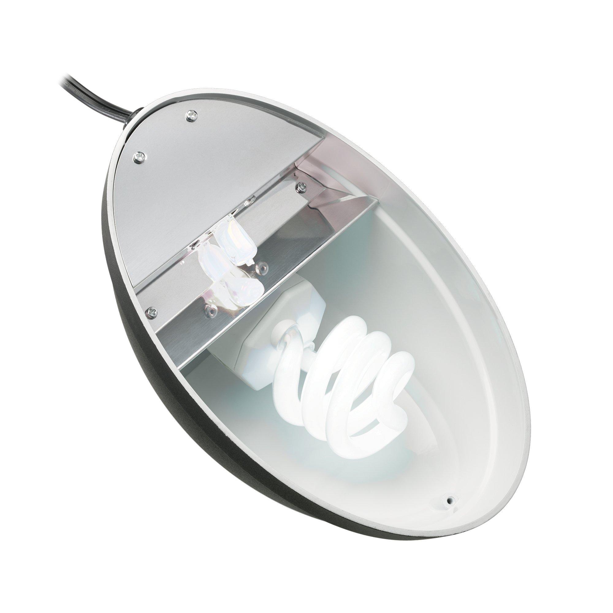 Zilla Reptile Terrarium Heat Lamps, Mini Halogen & UVB Combo Fixture by Zilla (Image #3)