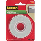 3M Scotch Mounting Tape, .5-Inch by 75-Inch, 6-PACK