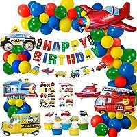 MMTX Globos Cumpleaños de Niños, Cumpleaños Decoraciones Transporte