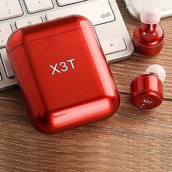 Nuevo X3T deportes actualizados auricular Bluetooth manos libres auriculares inalámbricos bluetooth: Amazon.es: Oficina y papelería