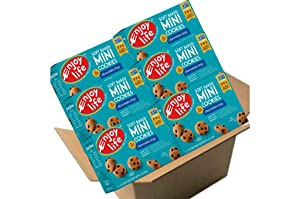 Enjoy Life Soft Baked Mini Cookie Snack Packs, Gluten-Free, Dairy- Free, Nut-Free and Soy-Free, Chocolate Chip, (Pack of 6)