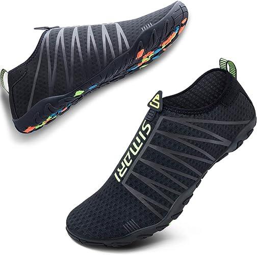 Amazon.com: SIMARI - Zapatos de agua para hombre y mujer, de ...