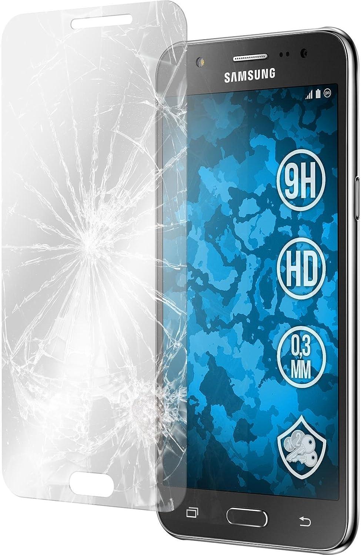 PhoneNatic – 2 Protectores de Pantalla Transparentes para Samsung Galaxy J5 (2015 – J500), Protector Resistente de Cristal Templado para Galaxy j5 (2015 – J500): Amazon.es: Electrónica