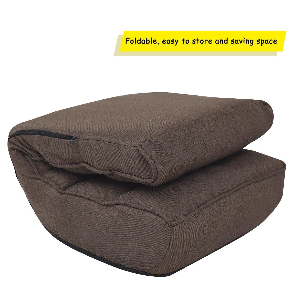 Amazon.com: Giantex silla de piso Sleeper plegable de ángulo ...