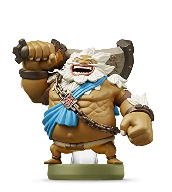 Amazoncom Amiibo Daruk Zelda Breath Of The Wild Japan Ver