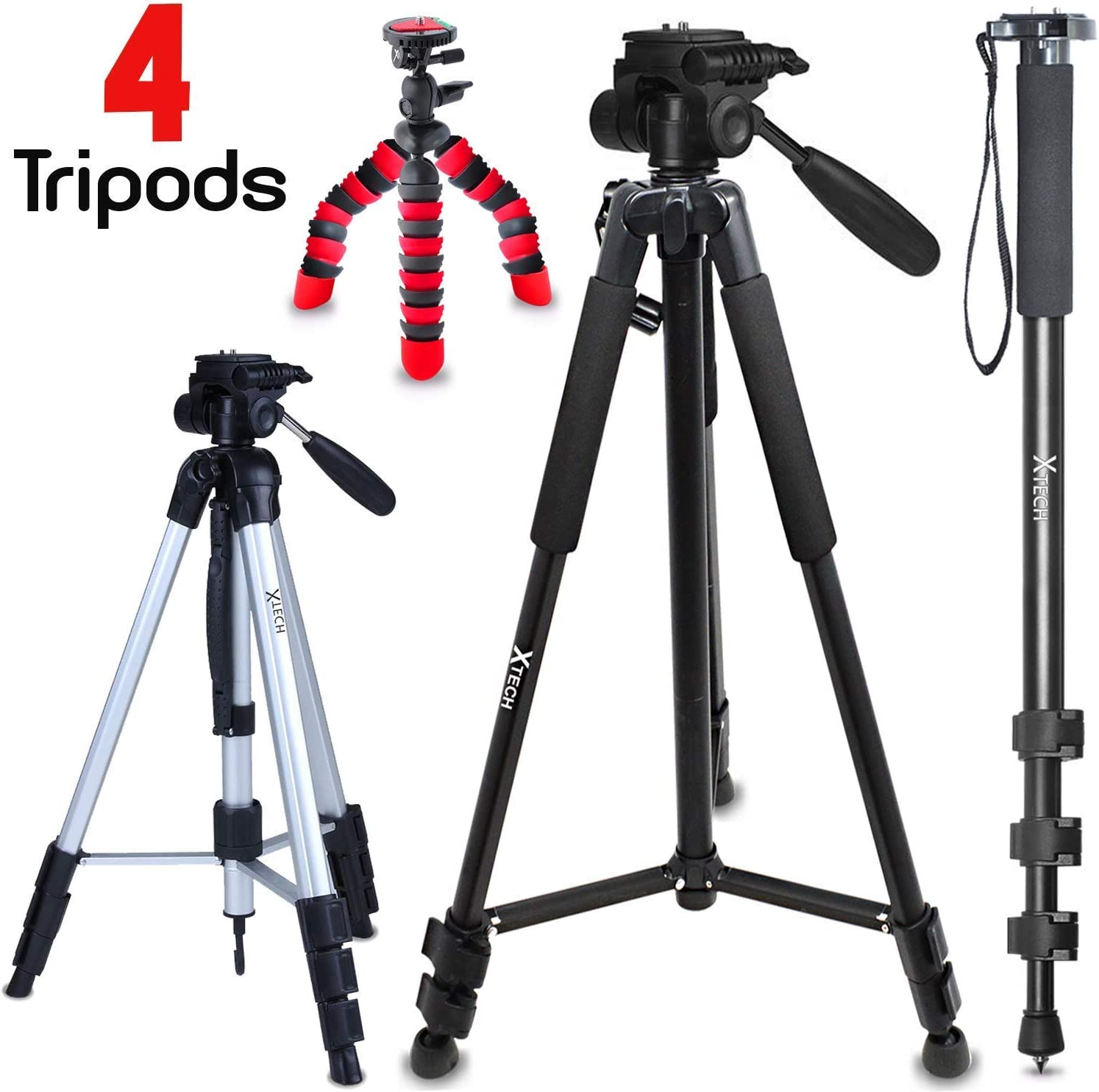 Gadget Place Lightweight Tabletop Tripod for Canon EOS 80D Canon EOS 1300D EOS Rebel T6