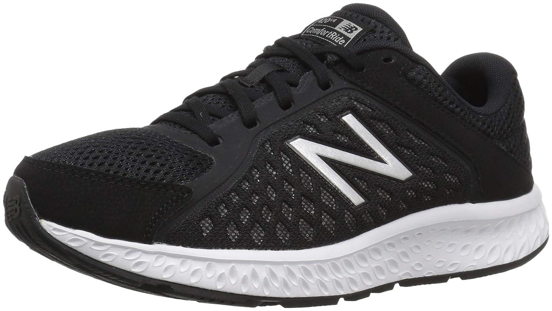 Noir (noir argent) New Balance W420v4, Running Femme 38.5 EU