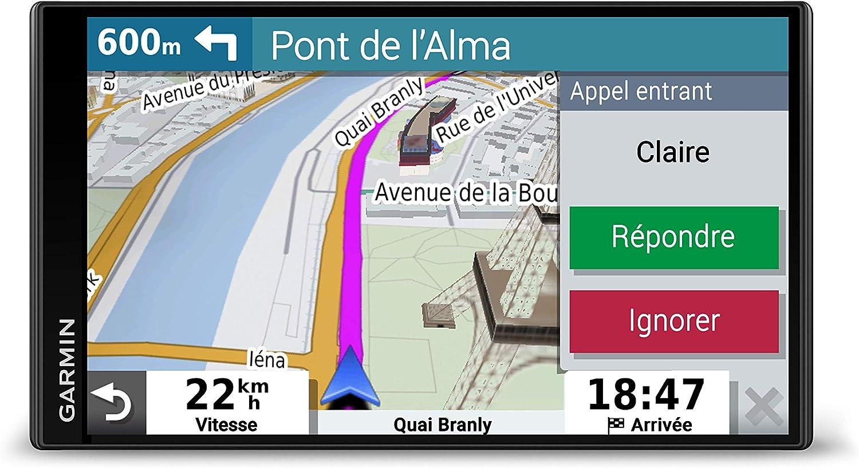 Garmin DriveSmart 65 - GPS Auto - Diagramme 3D