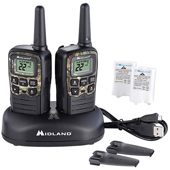 Amazon.com: Midland t55vp3 22 Canal/28 mile Two Way Radio ...