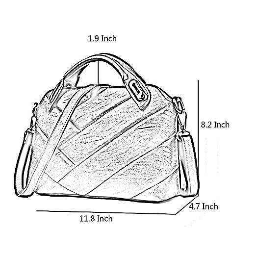 Amazon Com Gjd Women Designer Handbags Satchel Top Handle Purses