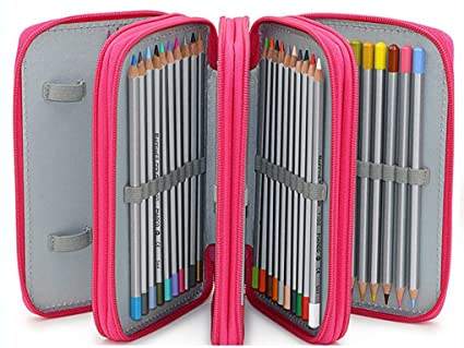 Estuche 4 Compartimentos Niño Multifuncional Organizador de ...