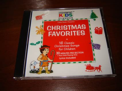 Christmas Favorites By Cedarmont Kids Audio Cd 16 Classic Christmas Songs For Children Lyrics Included 2 Sections Songs In Section 2 In