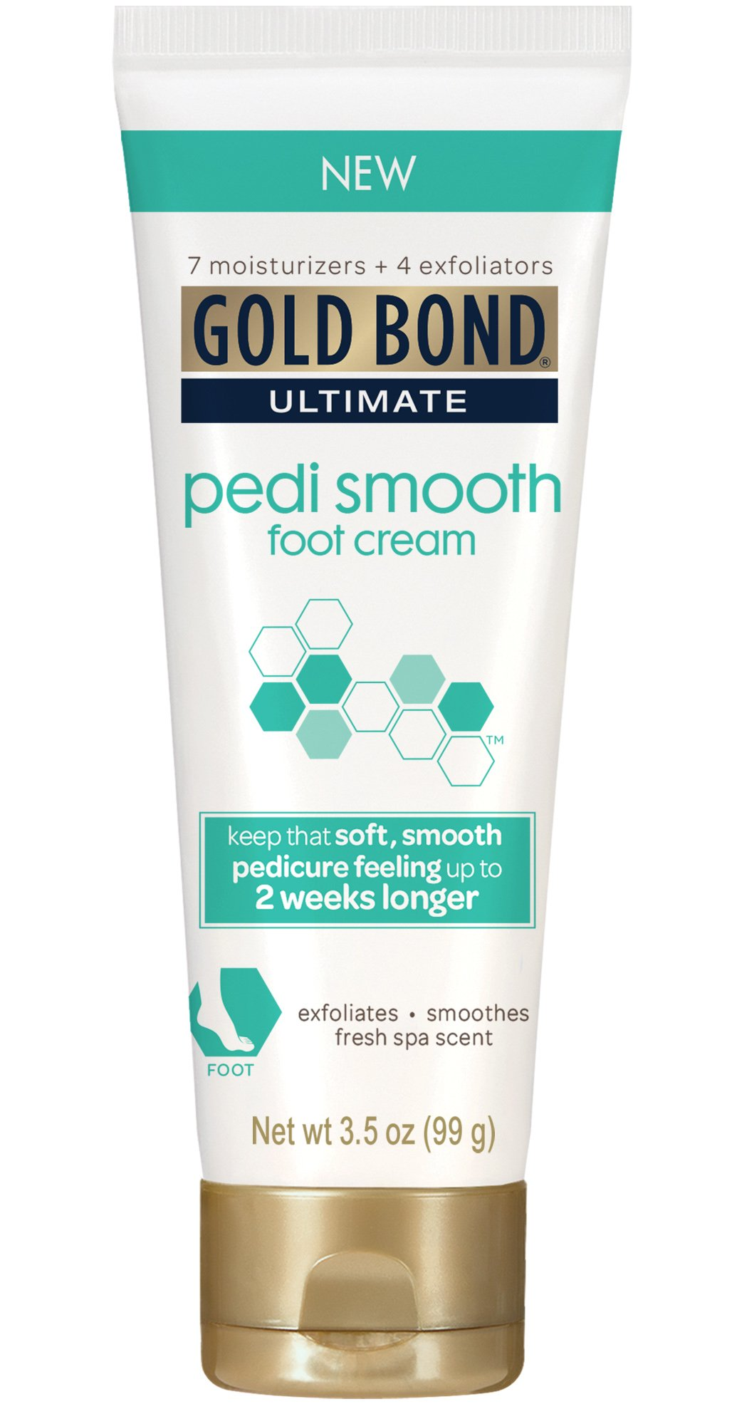 Gold Bond Ultimate Pedi Smooth Foot Cream, 3.5 Ounce (Pack of 24)