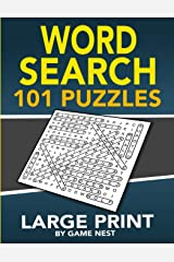 "Word Search 101 Puzzles Large Print: Fun & Challenging Puzzle Games for Adults and Kids (8.5"" x 11"" Large Print) Paperback"