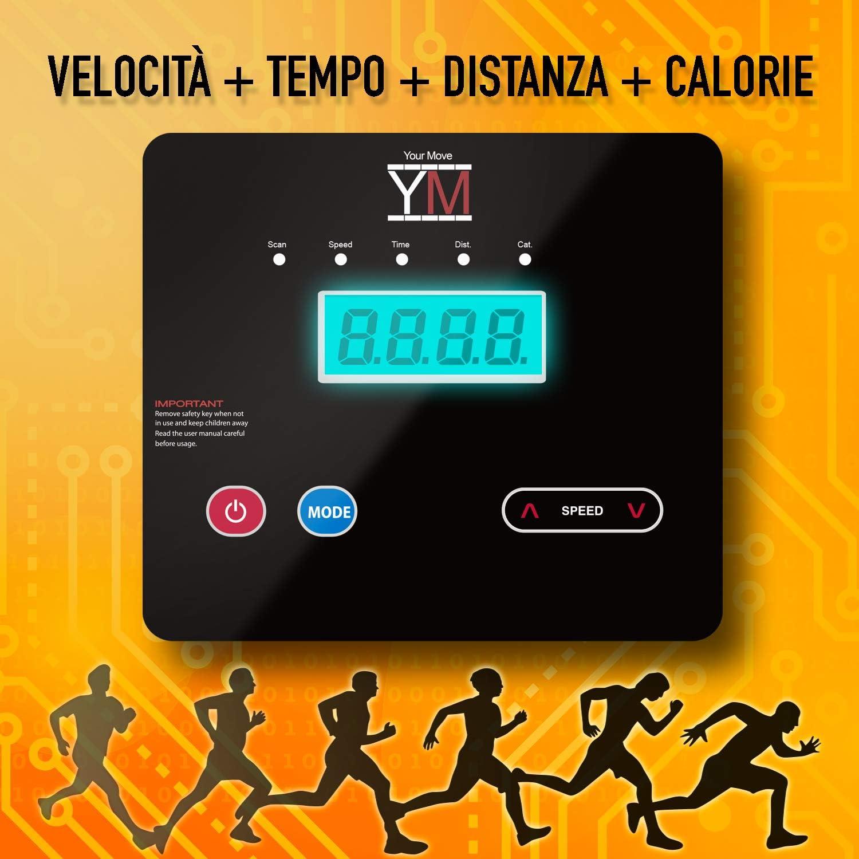 Cinta de correr eléctrico plegable de 750 vatios 10km/h (2000 ...