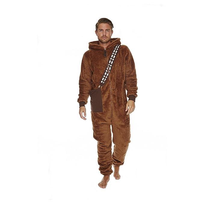 La Guerra de las Galaxias Chewbacca Mono Marrón: Amazon.es: Ropa y accesorios