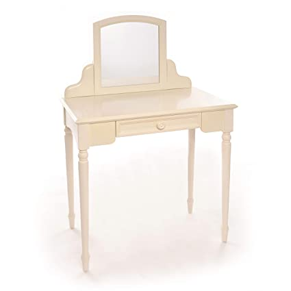 Carriage House, Children Vanity Table With Mirror Storage, Childrenu0027s  Furniture, Vintage White