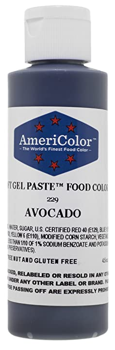Amazon.com: Americolor Soft Gel Paste Food Color, 4.5-Ounce, Gold ...