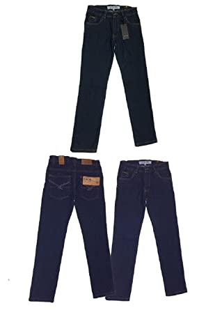 f1514867dd81 Firetrap Boys Kids Indigo Blue Wash Denim Designer Fashion Jeans Sizes from  2 to 13 Years