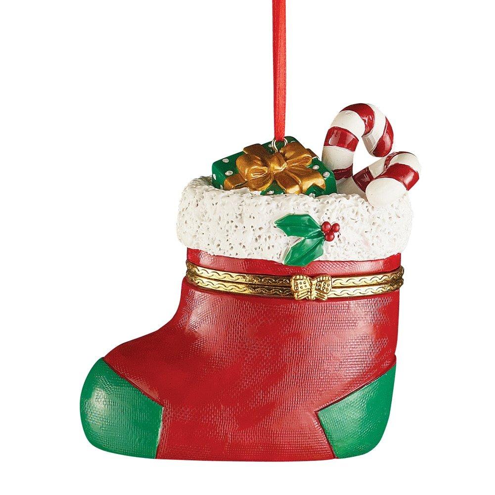 Trinket Box Christmas Tree Ornaments Stocking