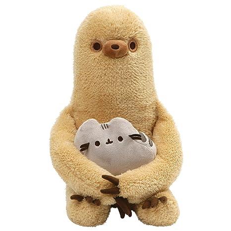 Amazon Com Gund Pusheen With Sloth Plush Stuffed Animal Set Of 2