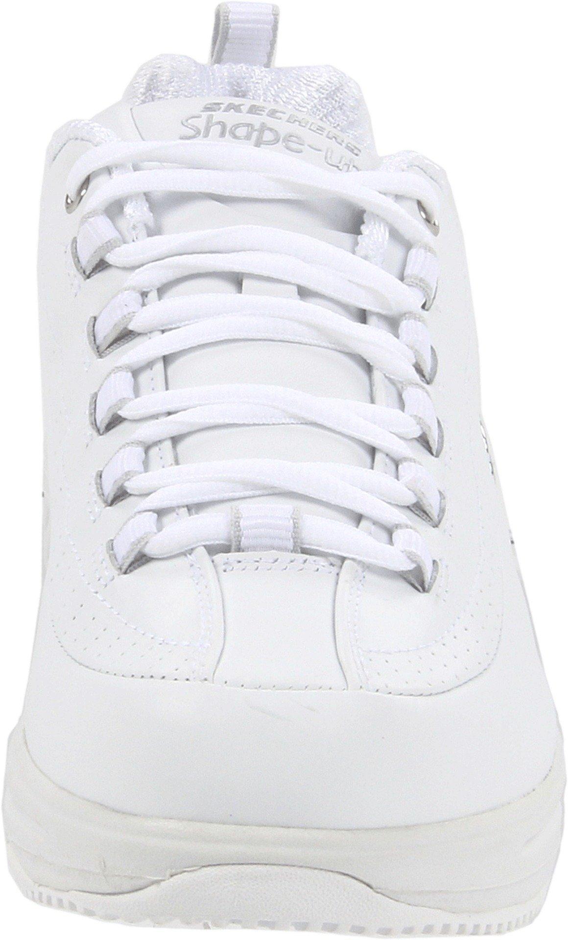 Skechers for Work Women's Shape Ups Slip Resistant Sneaker,White,10 M US by Skechers (Image #4)