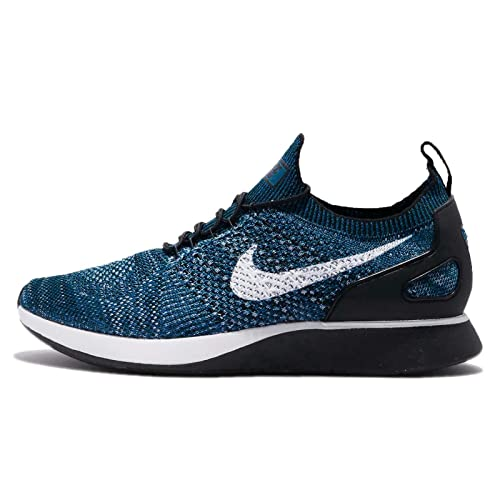 2ab4e87271617 Amazon.com | NIKE Air Zoom Mariah Flyknit Racer Men's Sneakers 918264 300  Green Abyss (Blue)/Black Cirrus Blue | Road Running